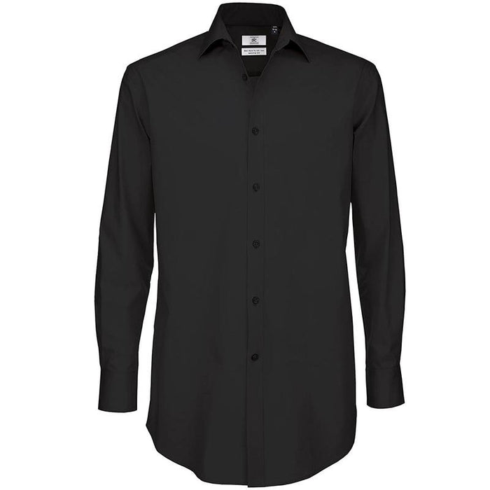 B&C Black tie LSL /men - Spontex Workwear