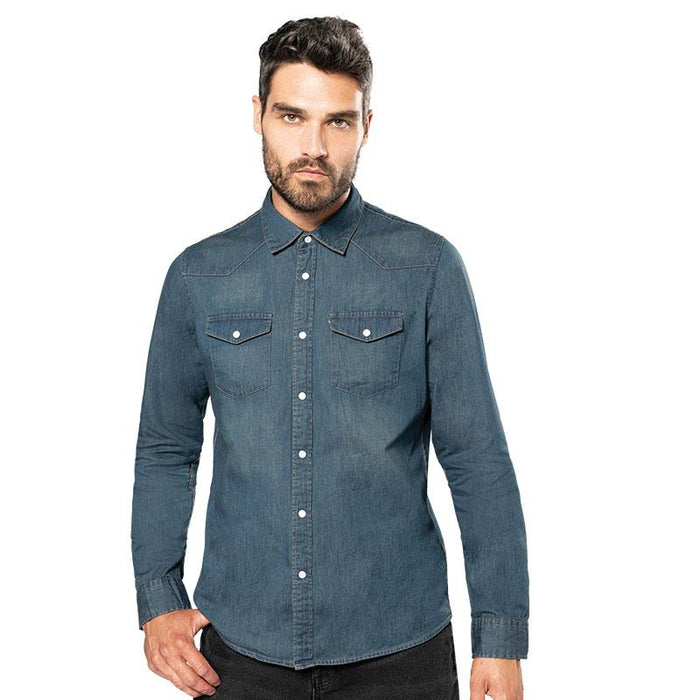 Long sleeve denim shirt - Spontex Workwear