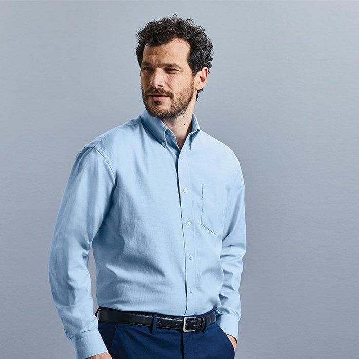 Long sleeve easycare Oxford shirt - Spontex Workwear