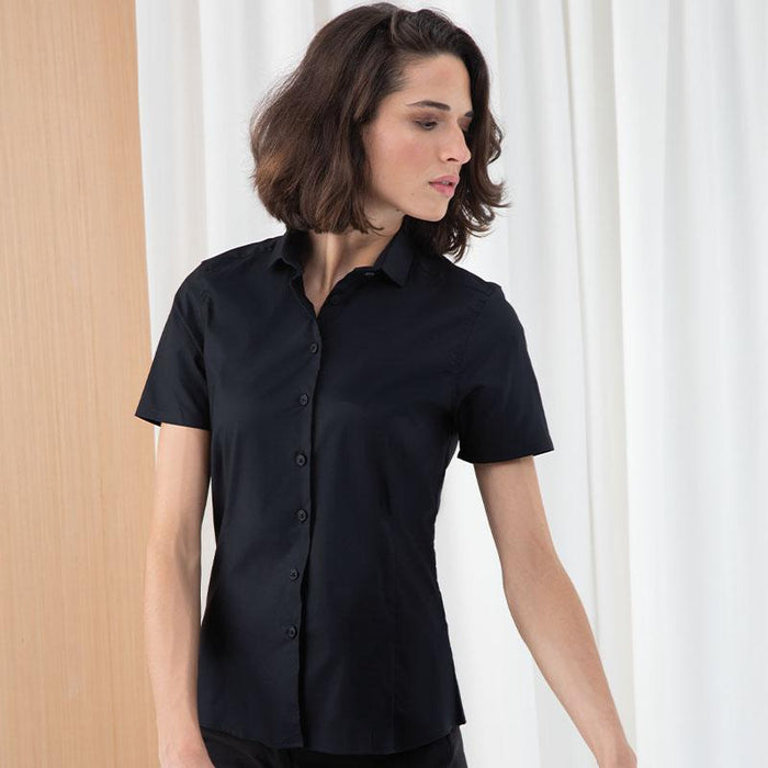 Women's short sleeve stretch shirt - Spontex Workwear