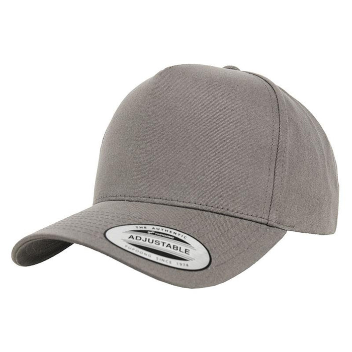 5-panel curved classic snapback (7707) - Spontex Workwear