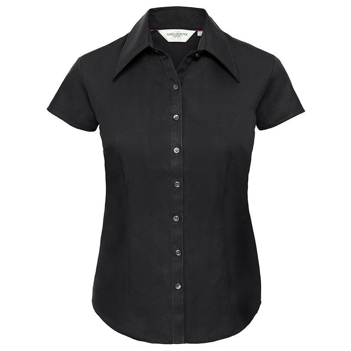 Women's cap sleeve Tencel® fitted shirt - Spontex Workwear