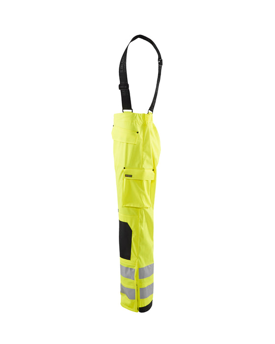 BLÅKLÄDER Rain trousers High Vis LEVEL 2 Yellow