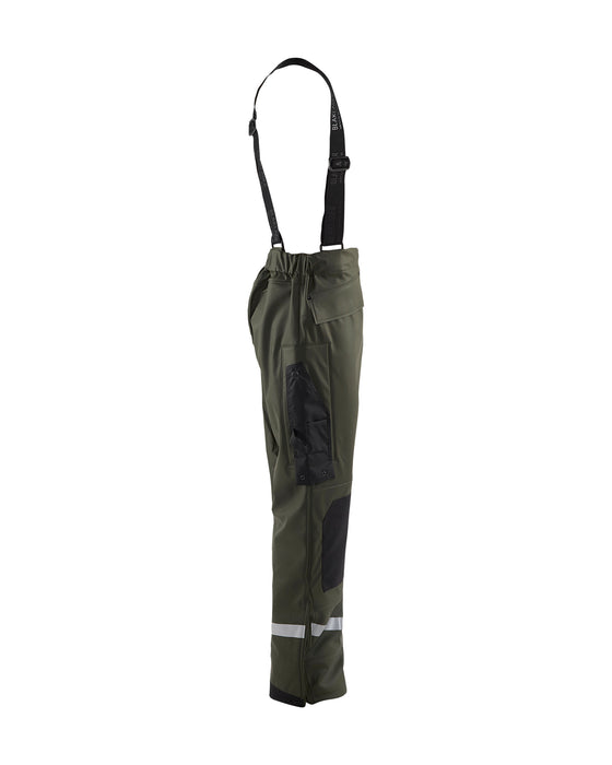 BLÅKLÄDER Rain trousers LEVEL 2 Army green