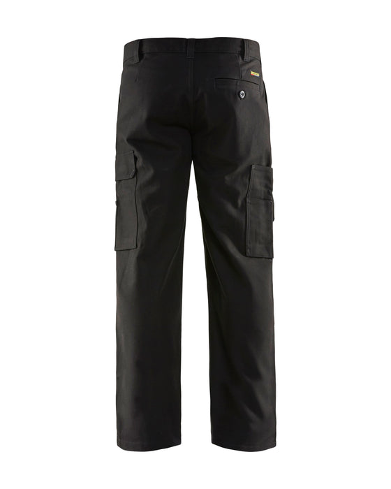 BLÅKLÄDER Cargo Trousers Black