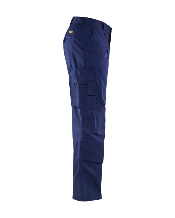 BLÅKLÄDER Cargo trousers with kneepads Navy blue