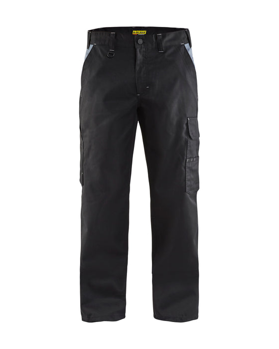 BLÅKLÄDER Industry trousers Black/Grey