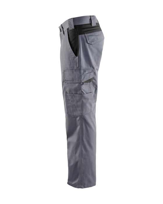 BLÅKLÄDER Industry trousers Grey/Black