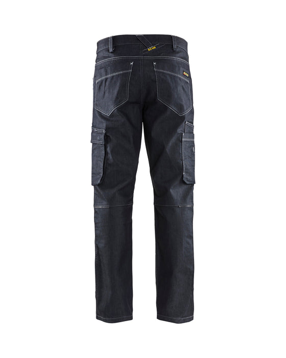 BLÅKLÄDER Service trousers with stretch  Navy blue