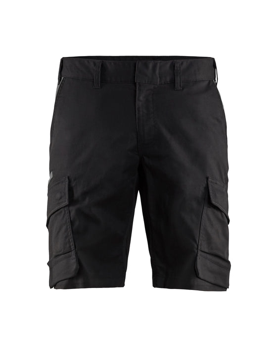 BLÅKLÄDER Industry Shorts Black/Dark grey