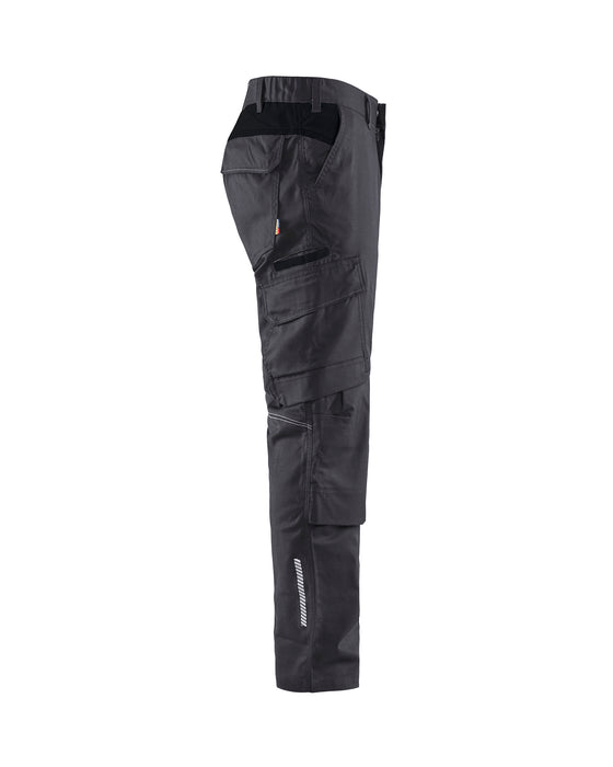BLÅKLÄDER Industry Trouser with kneepocket  Mid grey/Black
