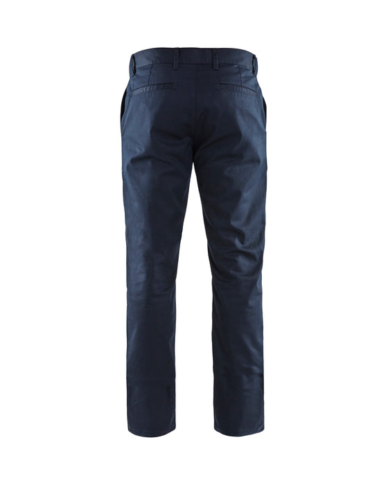 BLÅKLÄDER Chinos Dark Navy blue