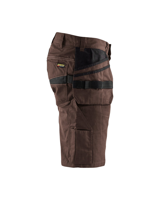 BLÅKLÄDER Shorts with tool pockets  Brown/Black