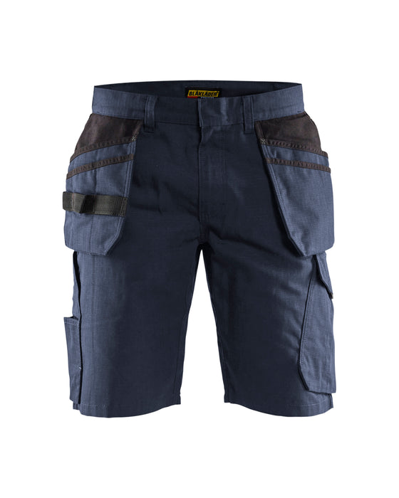 BLÅKLÄDER Shorts with tool pockets  Dark navy/black