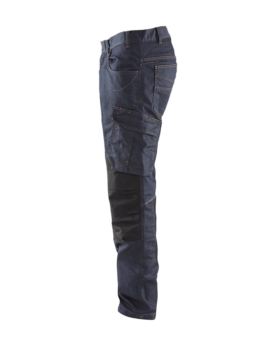 BLÅKLÄDER Trouser Unite Navy blue/Black