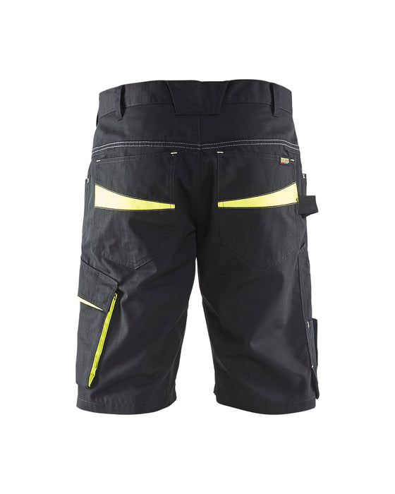 BLÅKLÄDER Service Short Black/Yellow