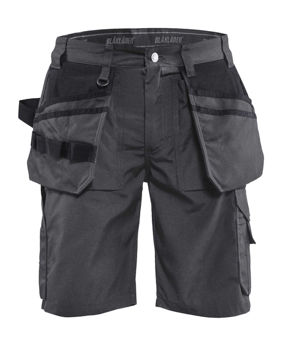 BLÅKLÄDER Lightweight Craftsman Shorts Darkgrey/black