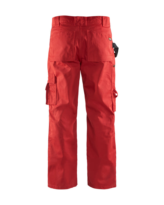 BLÅKLÄDER Trousers without Nailpockets Red