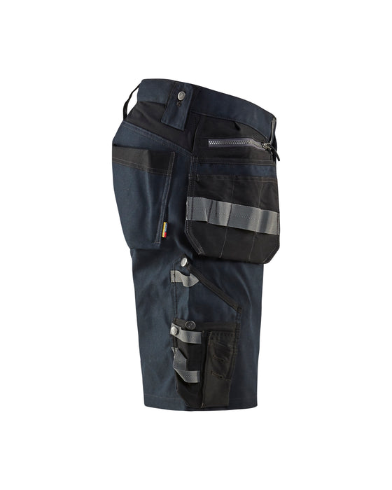 BLÅKLÄDER Craftsman Shorts Dark navy/black