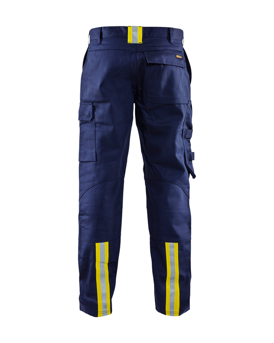 BLÅKLÄDER Welding trouser Navy blue/Yellow