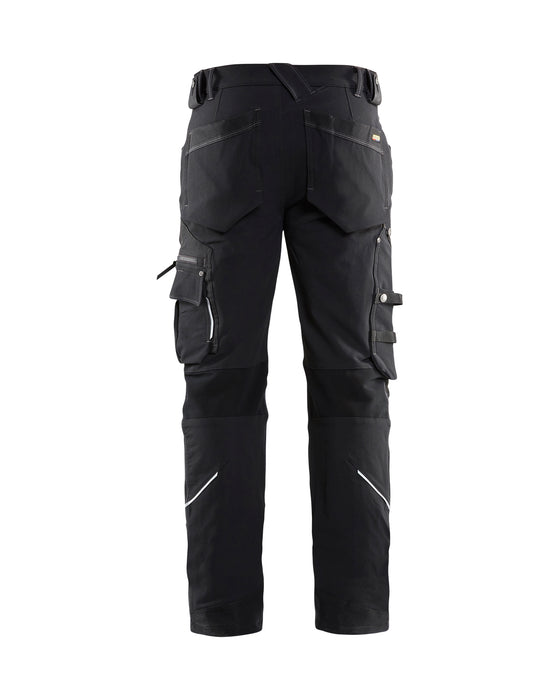 BLÅKLÄDER Craftsman trouser 4-way stretch X1900 Black