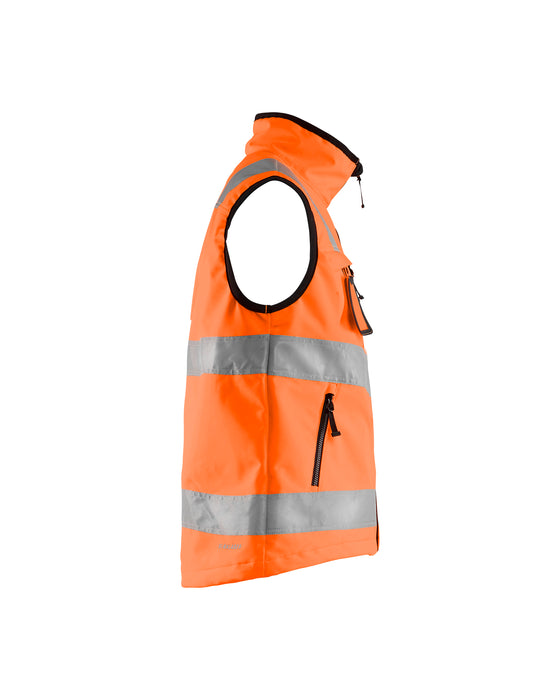 BLÅKLÄDER Hi-vis softshell vest Orange
