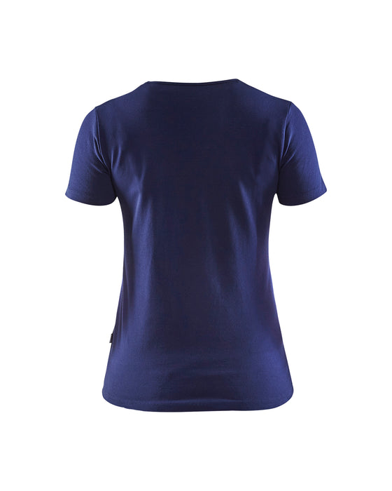 BLÅKLÄDER Ladies T-Shirt Navy Blue