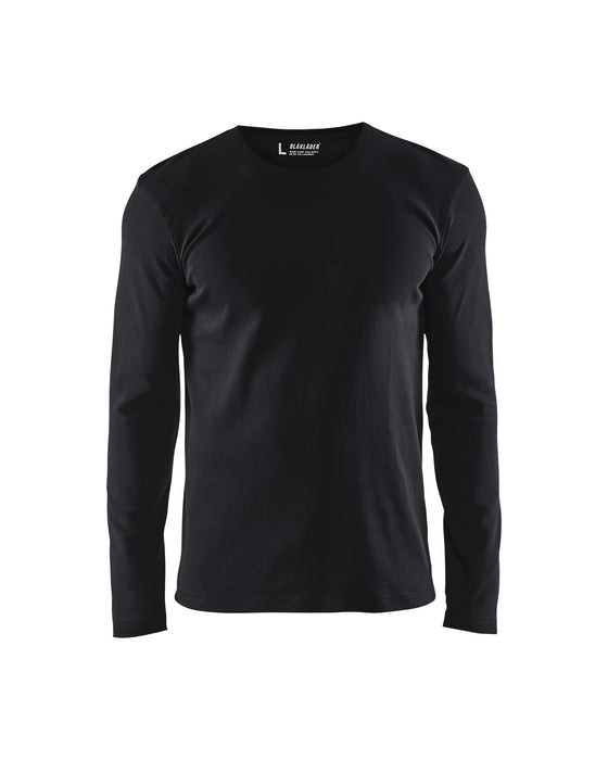 BLÅKLÄDER T-shirt long sleeves Black