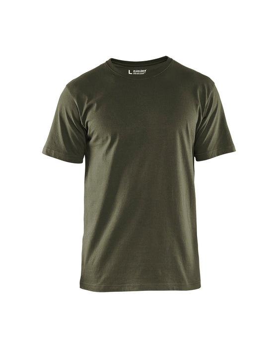 BLÅKLÄDER T-Shirt 5 pack Army green