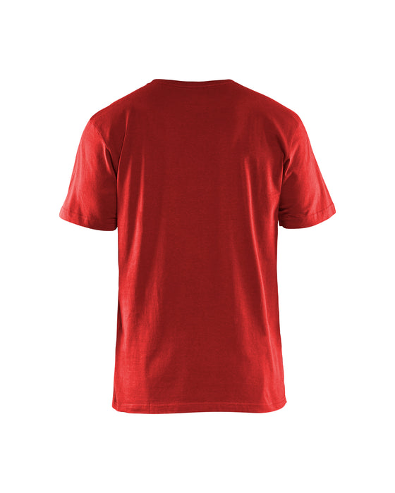 BLÅKLÄDER T-Shirt 5 pack Red
