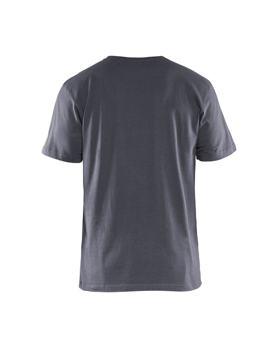 BLÅKLÄDER T-Shirt 5 pack Grey