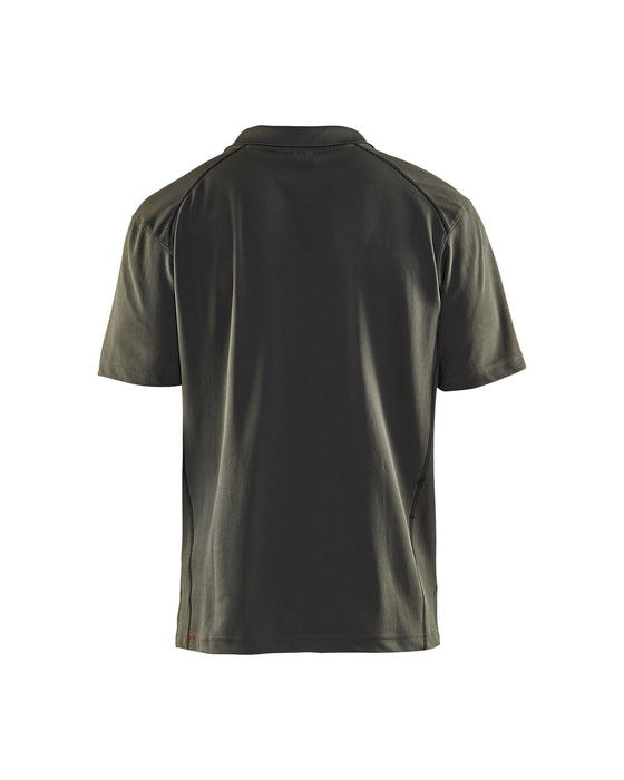 BLÅKLÄDER Pique UV-protection Army green