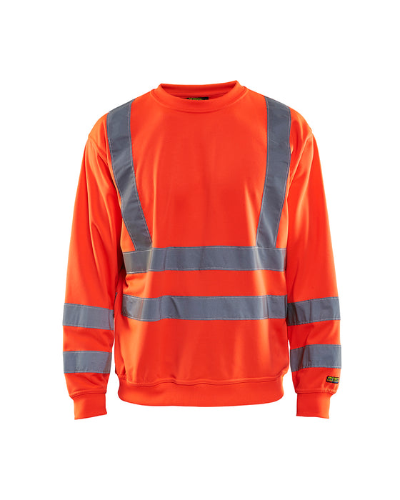 BLÅKLÄDER Sweatshirt High Vis Red highviz