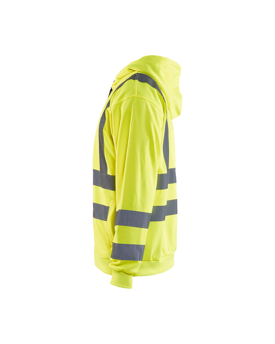 BLÅKLÄDER Hooded Sweater High Visibility Yellow