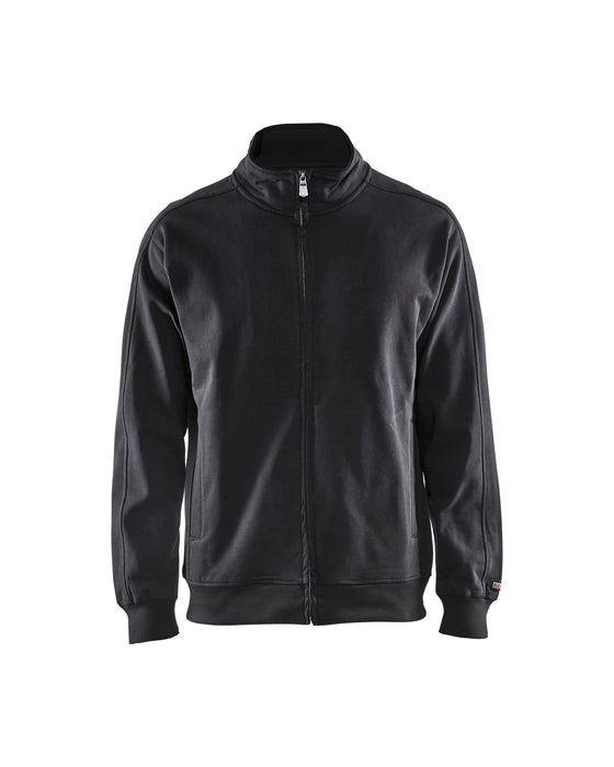 BLÅKLÄDER Sweatshirt full zip Black