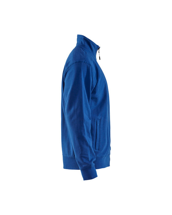 BLÅKLÄDER Sweatshirt with Zip Cornflower blue