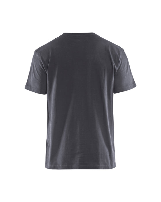 BLÅKLÄDER T-shirt  Mid grey/Black