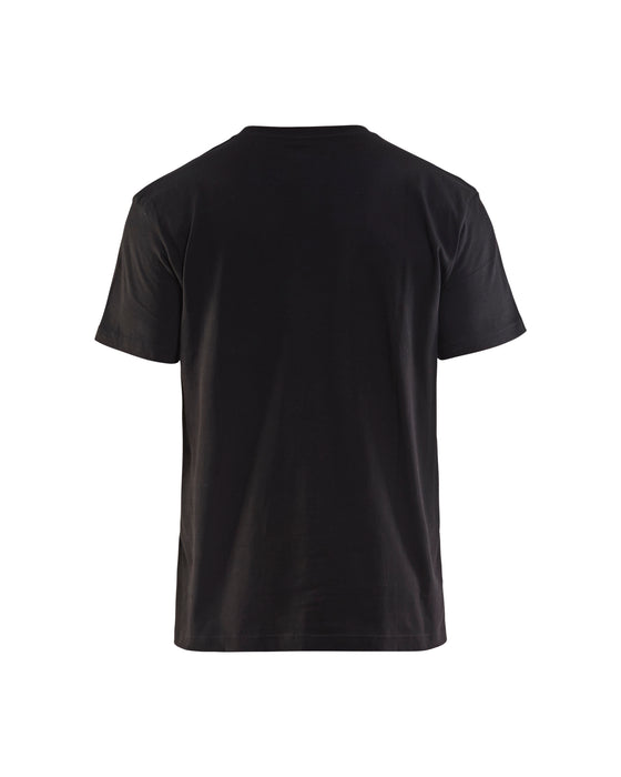 BLÅKLÄDER T-shirt  Black/Grey