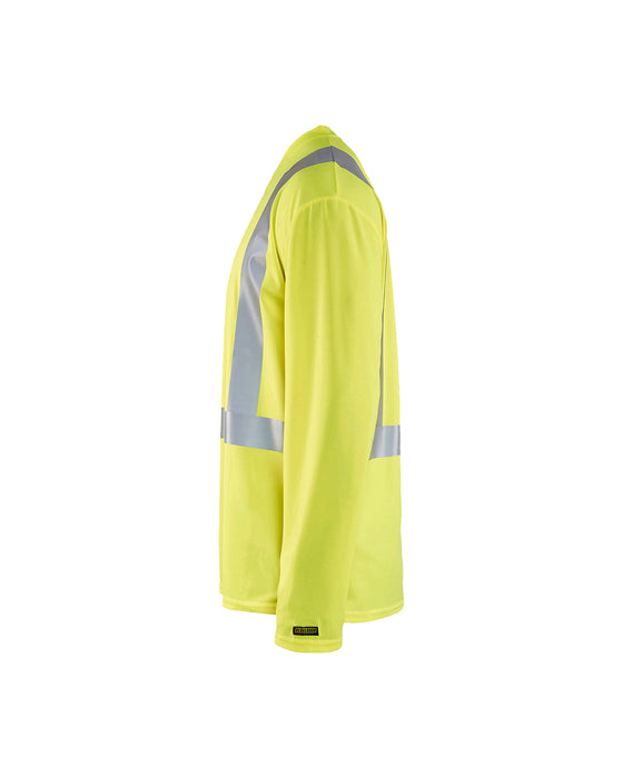 BLÅKLÄDER Highvisibility long sleeve t-shirt Yellow