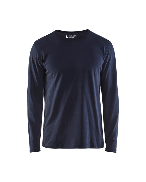 BLÅKLÄDER T-shirt Long-sleeve Dark Navy blue