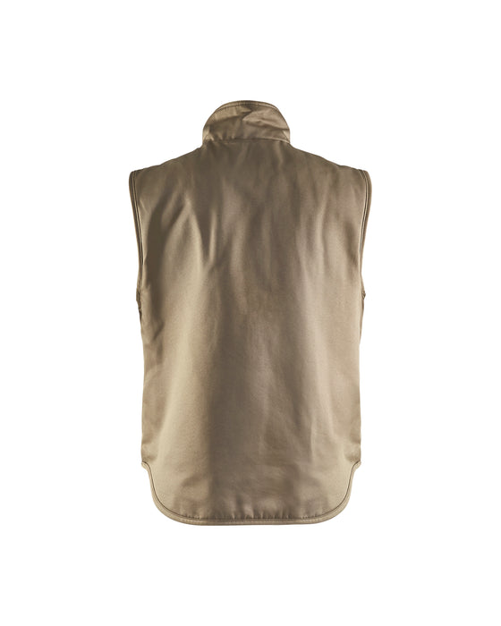 BLÅKLÄDER Body warmer Khaki