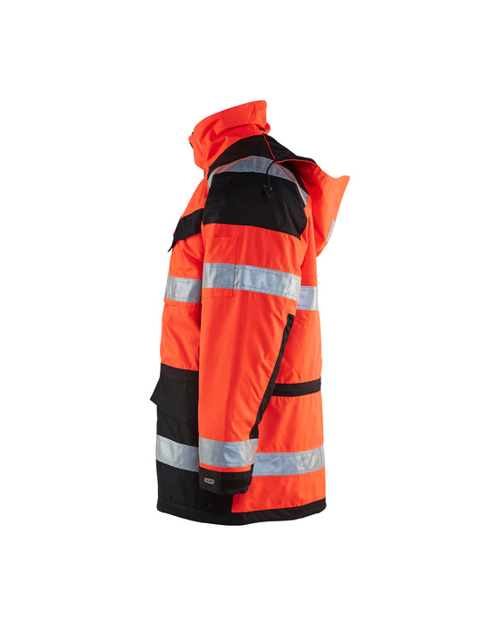 BLÅKLÄDER Parka High VIs Red/black
