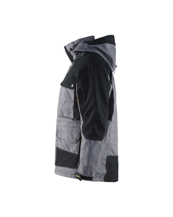 BLÅKLÄDER Winter parka Grey/Black