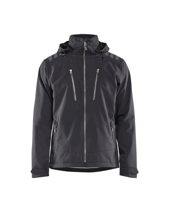 BLÅKLÄDER Softshell Jacket Darkgrey/black