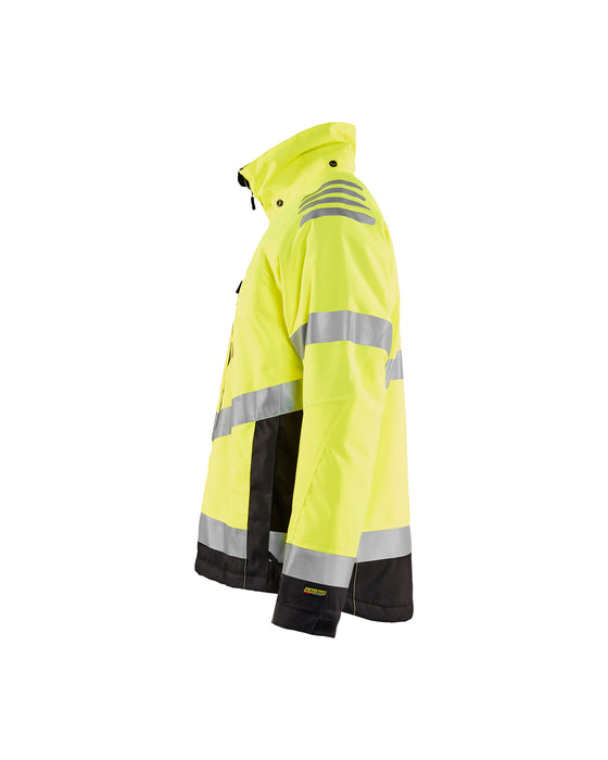 BLÅKLÄDER Hivis winter jacket Yellow/Black