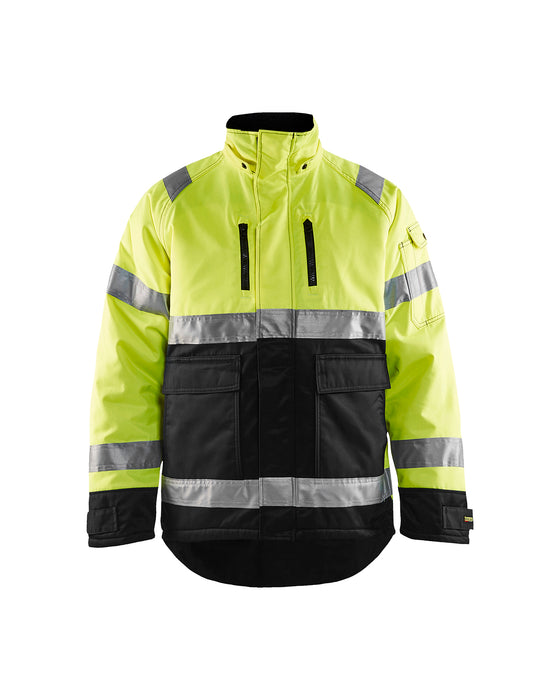 BLÅKLÄDER High Vis Winter Jacket Yellow/Black