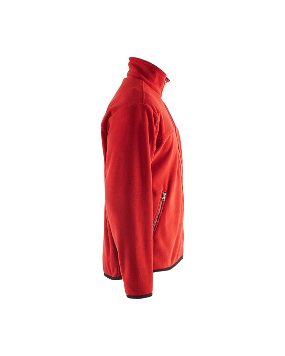 BLÅKLÄDER FLEECE JACKET Red