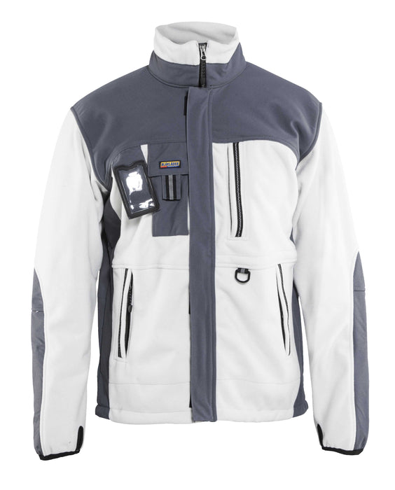 BLÅKLÄDER FLEECE JACKET FUNCTIONAL White/Grey
