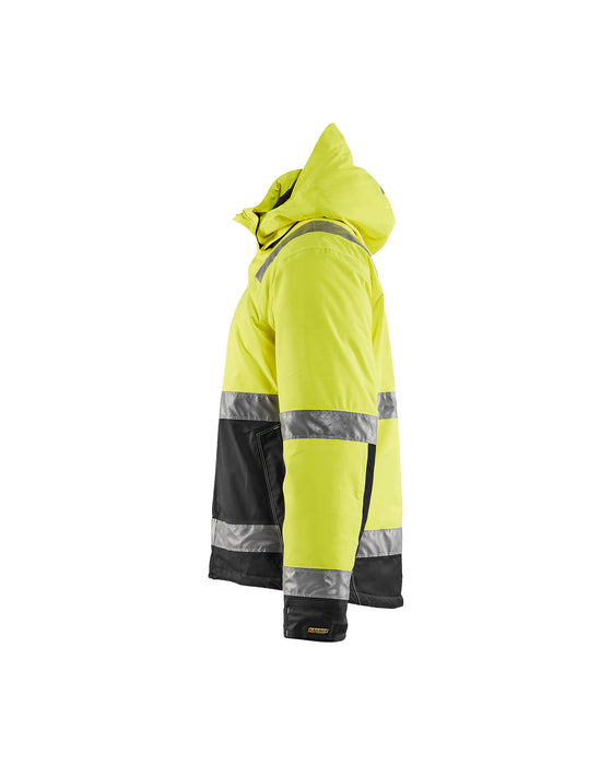 BLÅKLÄDER Winter jacket High Vis Yellow/Black