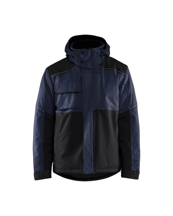 BLÅKLÄDER Winter jacket Dark navy/black